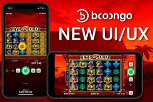 Booongo เปิดตัวการอัปเกรด UI  UX